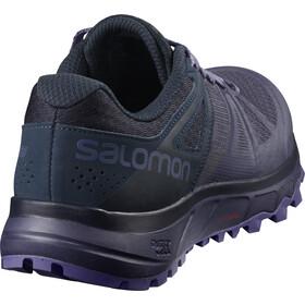 Salomon Trailster Shoes Women crown blue/navy blazer/purple opule